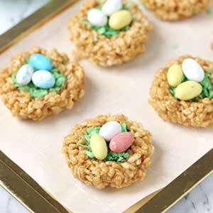 easter bunny nests