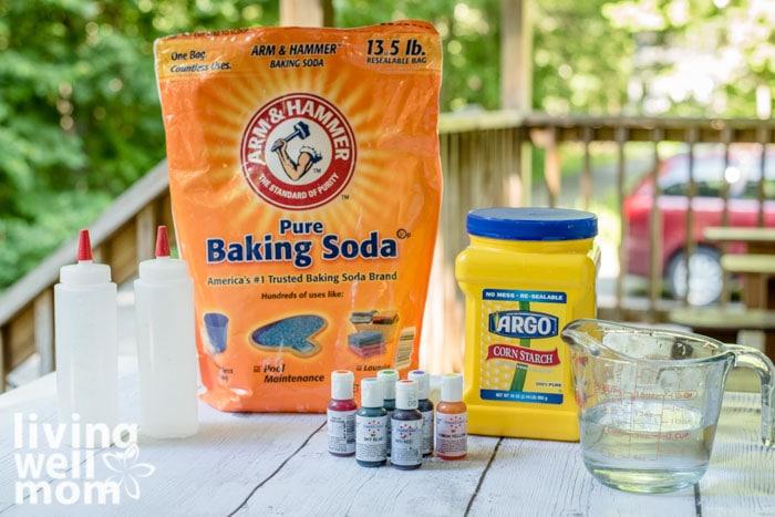 Ingredients for sidewalk paint