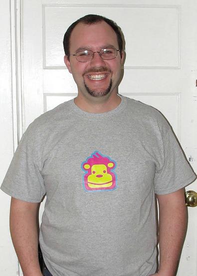 Nate monkey shirt