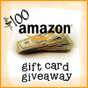 $100 Amazon Giveaway!!
