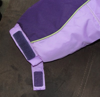 Rothschild Kids' girls purple winter coat tag