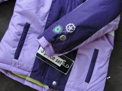Rothschild Kids' girls purple winter coat