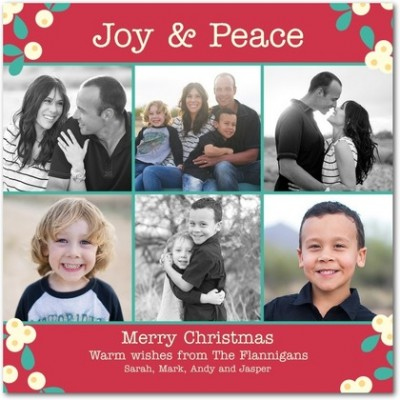 tiny prints is offering a one day only promotion for tomorrow november 9th where you can get a free card to your kids from santa - Tiny Prints Christmas Cards