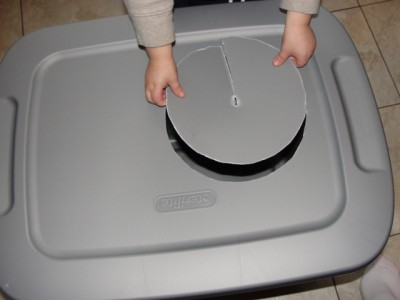 removing circle from bin