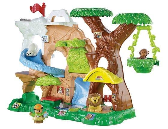 Little People Zoo Talkers toy