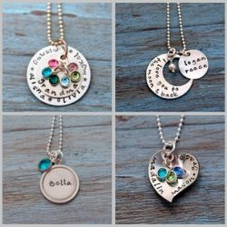 Holiday Gift Guide: Something About Silver Hand Stamped Jewelry