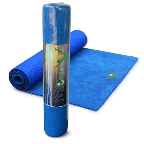 Aurorae Yoga Synergy Yoga Mat Towel Combination In: Aurorae Synergy Yoga Mat Review