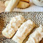 Eggnog Log Cookies