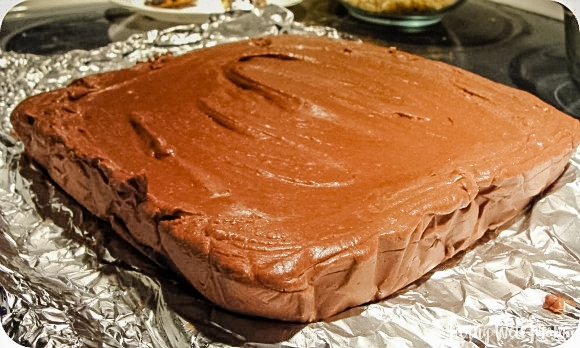 square fantasy fudge chocolate ready to eat