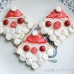 Santa Graham Cookies – Recipe for Kids
