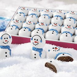 Holiday Gift Guide: The Swiss Colony Snowman Truffles