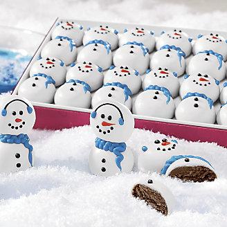 Swiss Colony Snowman Truffles