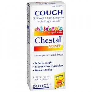 Boiron Cough medicine for kids