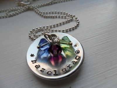 Hand Stamped Pendants
