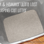 Odor Control With Arm & Hammer Ultra Last Cat Litter