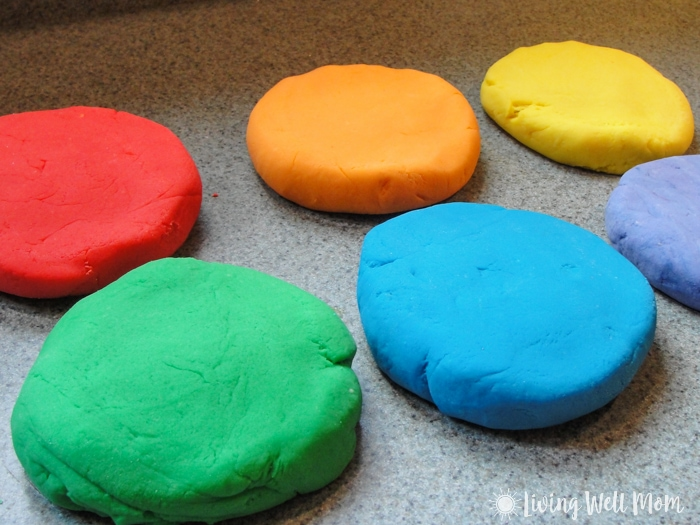 Quick Home Made Play Dough