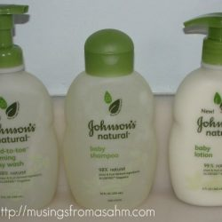 Review: Johnson's Natural Baby Products