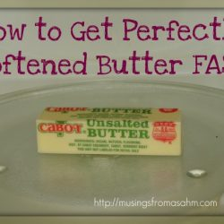 Baking Tip: How to Get Perfectly Softened Butter Fast