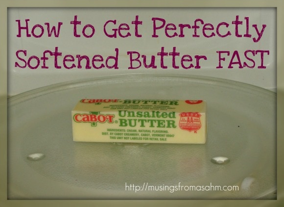 perfectly softened butter fast