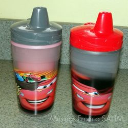 The First Year's Disney Color Change Sippy Cups {Giveaway}