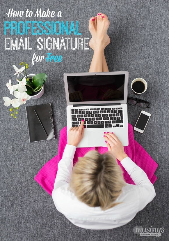 How to Make a Professional Email Signature For Free