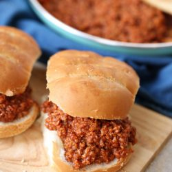 15 Minute One-Pot Sloppy Joes