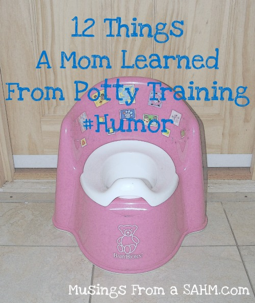 12 Things I Learned From Potty Training