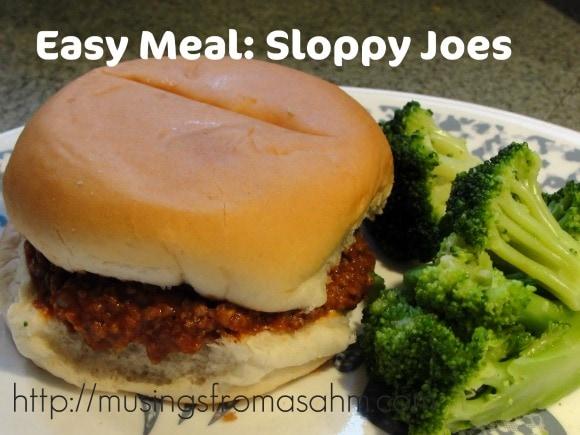 Easy Dinner: Sloppy Joes Recipe - Living Well Mom
