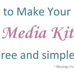 How To Make Your Own Media Kit for Free!