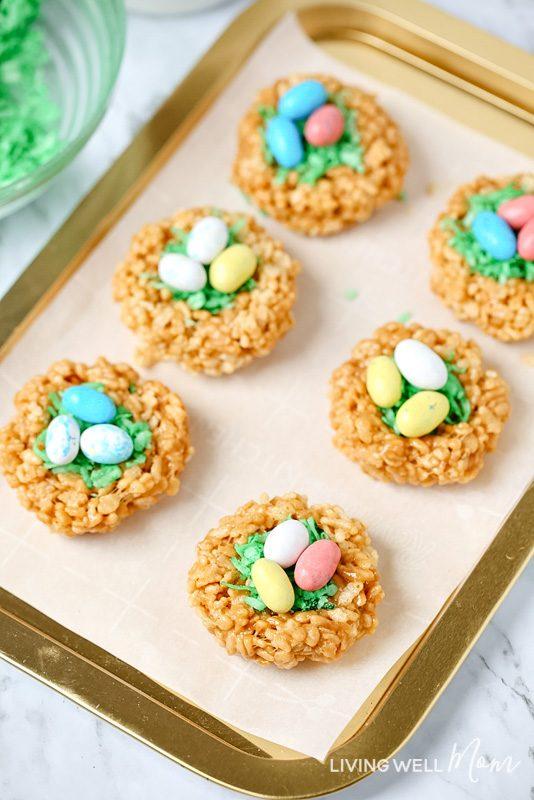 Easter bunny Rice Krispie treats
