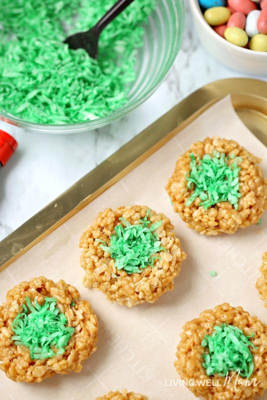 eatser rice krispie treats