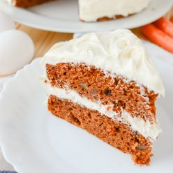 Delectable Layered Carrot Cake with Orange Cream Cheese Frosting