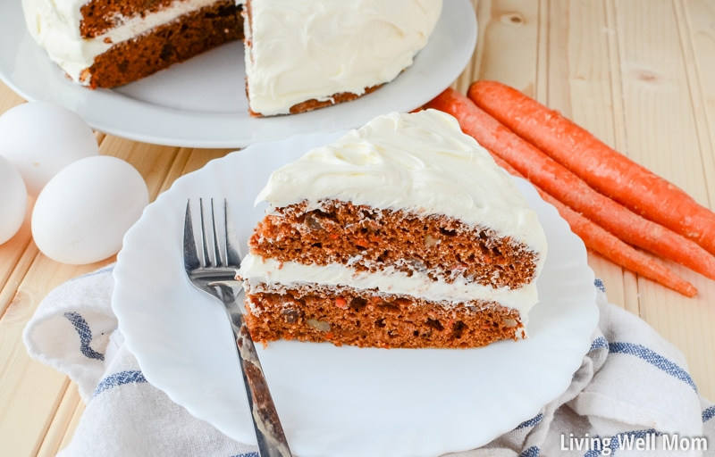 Carrot cake recipe in fact this layered carrot cake with orange
