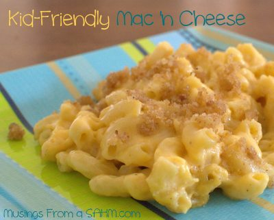 Kid Friendly Homemade Macaroni & Cheese
