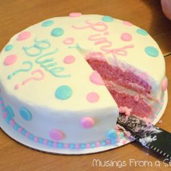 What's a Baby Gender Reveal Cake?