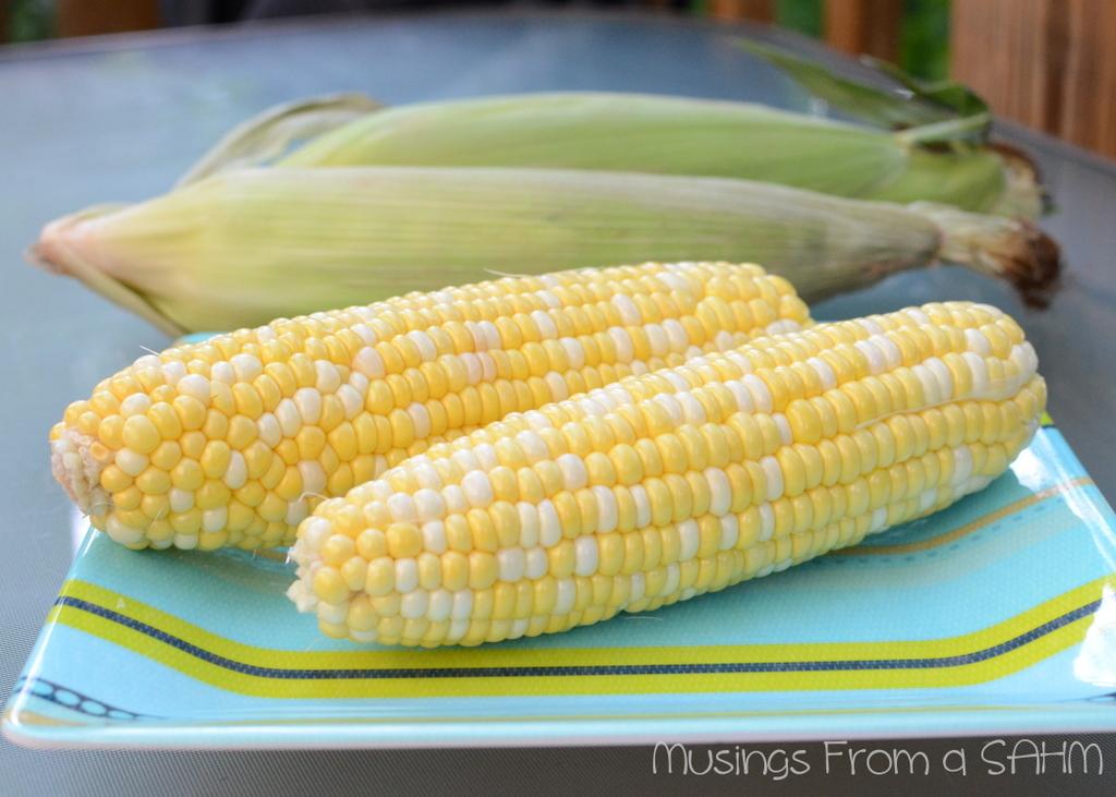 corn on the cob, yellow corn