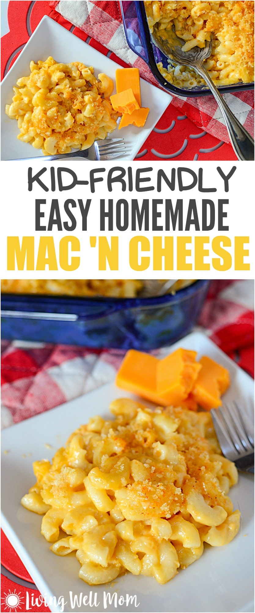 kid-friendly easy homemade mac and cheese