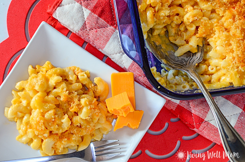 homemade mac and cheese for kids