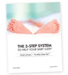 The 3 Step System to Help Your Baby Sleep Book
