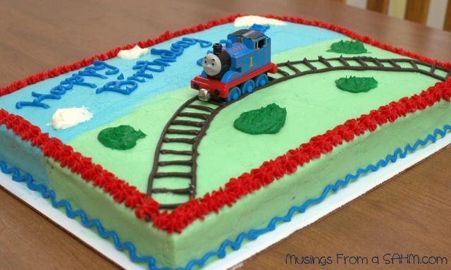 Thomas The Tank Engine Birthday Party Food