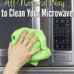 The Quick & Easy, All-Natural Way to Clean Your Microwave