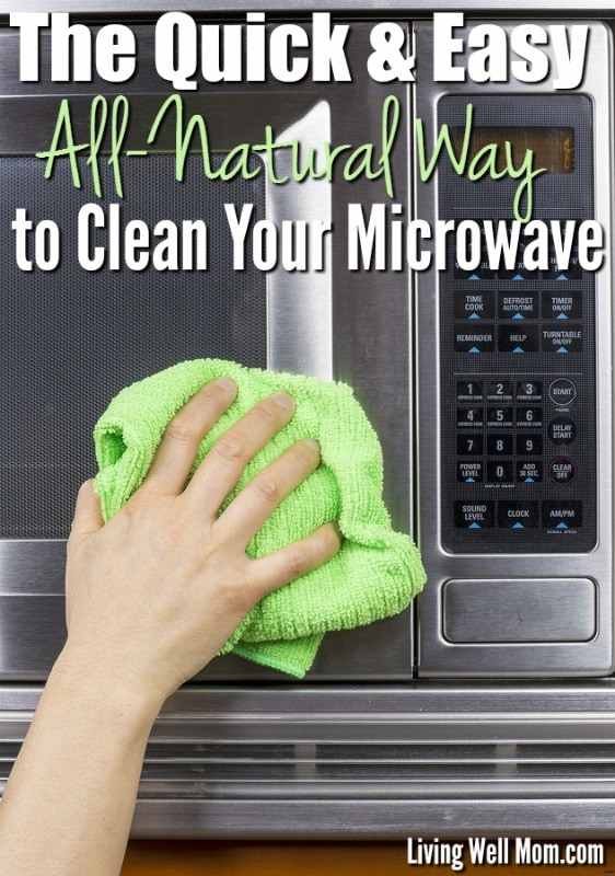 quick and easy natural way to clean your microwave