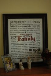 Personalized Family Manifesto Poster