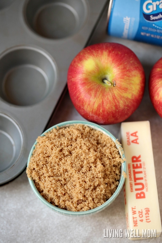 Bursting with cinnamon apple flavor, Apple Monkey Bread Bites is easy enough for kids to help make and they'll love munching on this favorite snack!