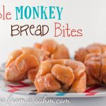 Easy Apple Monkey Bread Bites