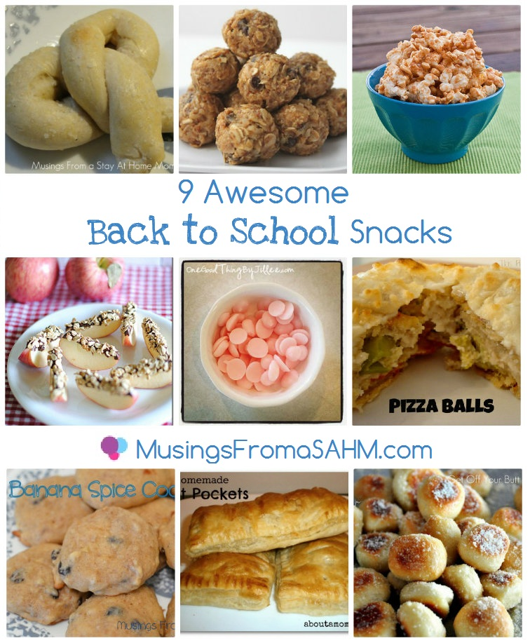 9 Awesome Back to School Snacks