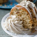 Rhubarb Spice Cake with Spiced Whipped Cream Recipe