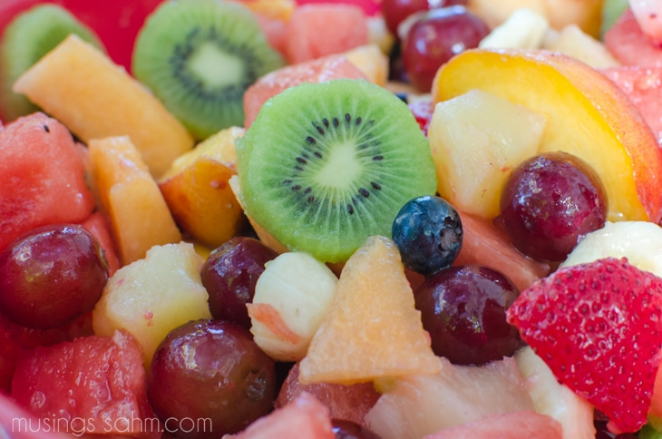 Easy fruit salad recipes