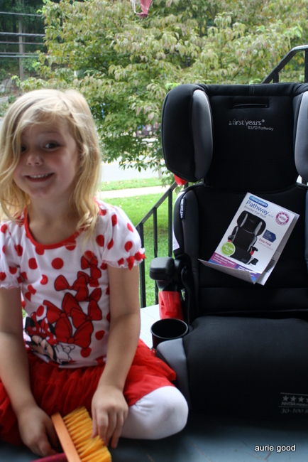 The First Years Compass Pathway Booster Seat - Living Well Mom