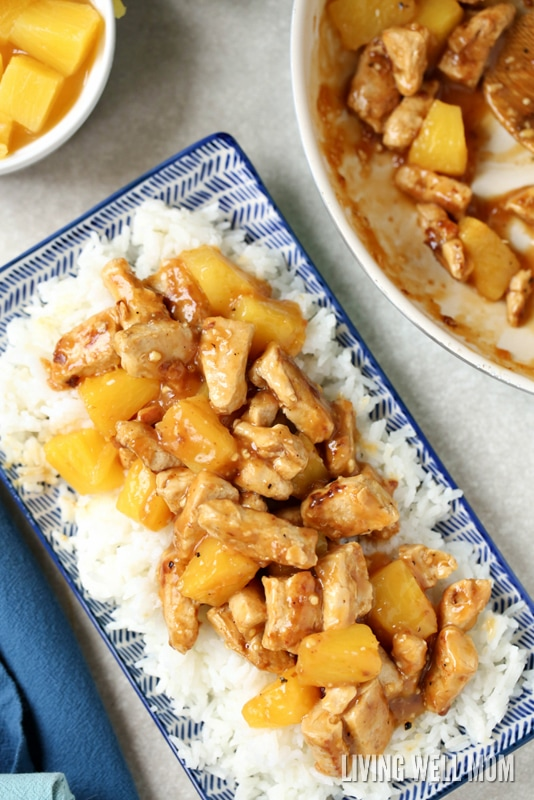 Aloha Chicken is a delicious quick-and-easy weeknight meal the whole family will love! Get the easy recipe here.